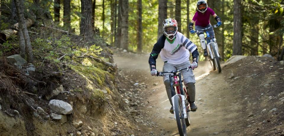 Downhill Mountain Biking in Canada